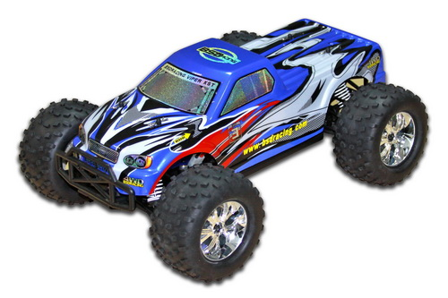 BSD Racing Monster Truck 4WD 1:10 2.4GHz EP Автомобиль (Blue RTR Version)[BS706T-Blue]