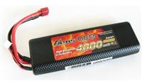 Gens Ace 7.4V 4000mAh 2S1P 25~50C Li-Po battery Hard Case 8# [B-25C-4000-2S1P-HC-8]