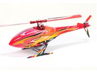 Xtreme B130X31-RY GOBLIN STYLE Head and Tail Fuselage - Red (130X)