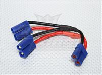 EC5-Parallel EC5 Battery Harness 12AWG for 2 Packs in Parallel (17635)