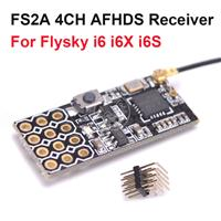 FS2A FlySky AFHDS 2A Compatible 2.4G 4CH Mini Receiver With PWM Output [FS2A-4CH]