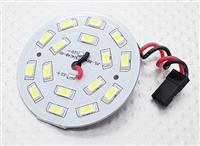 LED: White 16 LED Circular Light Board with Lead [371000045] (28509)