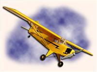 HYPERION PIPER CUB 25 Electric - 98% ARF
