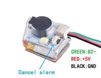 JHE42B-S Finder 5V Buzzer 100dB with LED Alarm Built in battery For RC FPV Drone