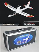 Nine Eagles Sky Runner NE R/C 772B 2.4Ghz RTF in Case [NE30277224207008A]