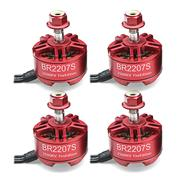 Racerstar BR2207S 2500KV Fire Edition 4PCS Brushless Motors For RC Drone
