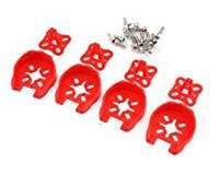 RTS-M-075R 22XX Motor Protection Cover 4pcs (red)