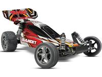 Traxxas Bandit VXL 2WD 1:10 EP 2.4Ghz (RTR Version) [TRX2407-Red]