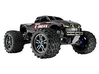 Traxxas E-Maxx Brushless 4WD 1:10 EP TQi 2.4Ghz (RTR Version) [TRX3908-TQi-Black]