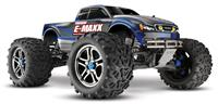 Traxxas E-Maxx Brushless 4WD 1:10 EP TQi 2.4Ghz (RTR Version) [TRX3908-TQi-Blue]