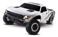 Traxxas Ford F-150 SVT Raptor 2WD 1:10 EP 2.4Ghz (RTR Version) [TRX5806-White]