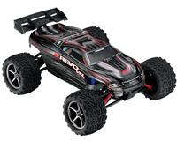 Traxxas E-Revo VXL Brushless Monster 1:16 RTR 328 мм 4WD TSM 2,4 ГГц (71076-3 Black)