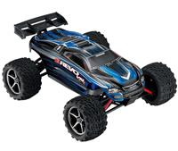 Traxxas E-Revo VXL Brushless Monster 1:16 RTR 328 мм 4WD TSM 2,4 ГГц (71076-3 Blue)