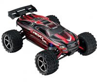 Traxxas E-Revo VXL Brushless Monster 1:16 RTR 328 мм 4WD TSM 2,4 ГГц (71076-3 Red)