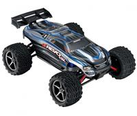 Traxxas E-Revo VXL Brushless Monster 1:16 RTR 328 мм 4WD TSM 2,4 ГГц (71076-3 Silver)