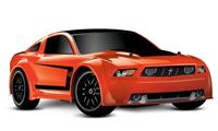 Traxxas Ford Mustang Boss 302 VXL 4WD 1:16 EP 2.4Ghz (Orange RTR Version) [TRX7304-Orange]
