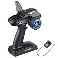 DumboRC X6 2.4G 6CH Transmitter with X6FG Receiver for RC Car Boat Tank (Blue)