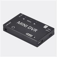 Mini FPV DVR Video Audio Recorder Module Built-in Battery for RC Drone - Black [1342839]