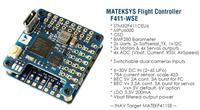 Matek F411-WSE STM32F411 Flight Controller Built-in OSD for RC Airplane Fixed Wing