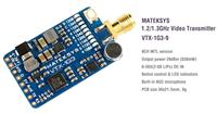 Matek 1.2/1.3GHz 630mW 9CH Video Transmitter [VTX-1G3-9]