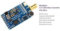 Matek 1.2/1.3GHz 630mW 9CH Video Transmitter [VTX-1G3-9]