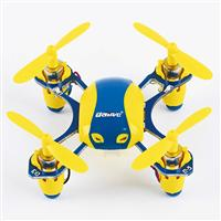 UDIRC U840 Yellow/Blue 2,4GHz 40мм мини квадрокоптер 4Ch Indoor and Outdoor Flight Mode
